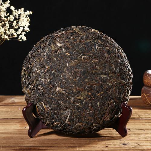 有茶居  普洱茶 生茶 布朗乔木茶 礼盒装357g