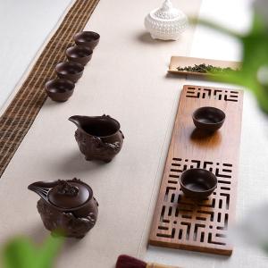 紫砂-貔貅茶具套装