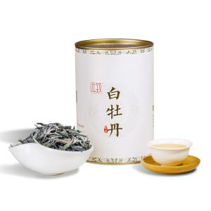 远致白茶政和白牡丹清香型铁罐装80g