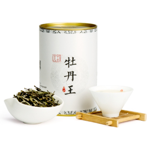 远致白茶政和牡丹王清香型铁罐装80g