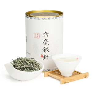 远致白茶政和白毫银针清香型铁罐装80g