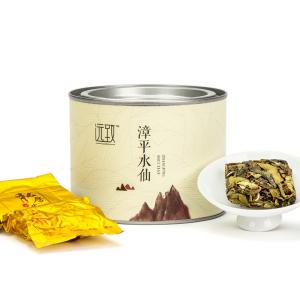 漳平水仙特级清香型100g铁罐装 滋味醇厚回甘显