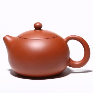 茶壶-紫砂壶-朱泥西施壶2号 220cc