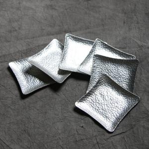 杯垫纯锡手工锤纹锡雕杯垫  单个价