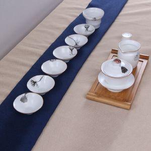 套件陶瓷定窑莲蓬10件套
