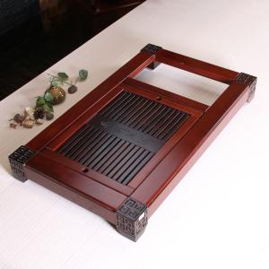茶具茶盘实木花梨木排水茶盘单茶盘 不含电器