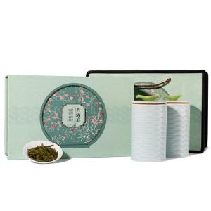 绿茶礼盒茶叶礼盒-龙井芳满庭陶瓷礼盒装 250g