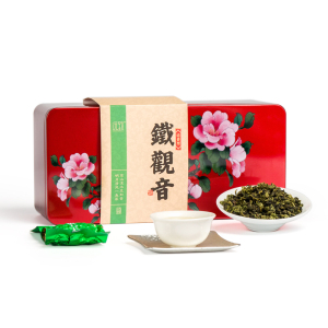 远致 乌龙茶 安溪铁观音 清香型消正工艺 红色铁盒装250g