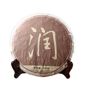 有茶居 普洱茶 熟茶  润级熟茶 纸袋装380g