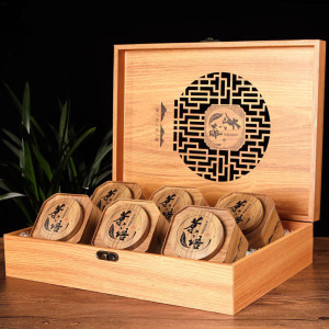 安溪原产 浓香铁观音-木纹开窗礼盒500g