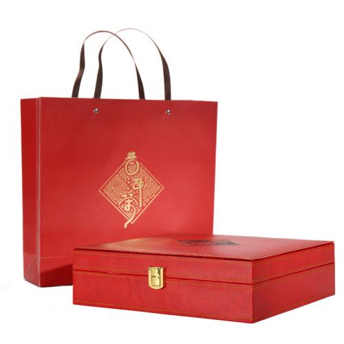 普洱茶-2009年润级熟茶礼盒380g-送礼爆款