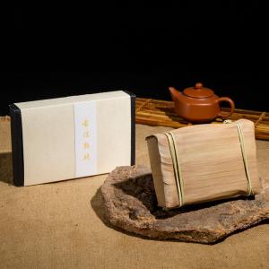 2014年 普洱茶-熟茶-古法熟砖250g