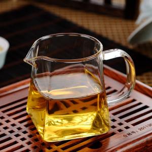 玻璃茶具-方形玻璃公道杯