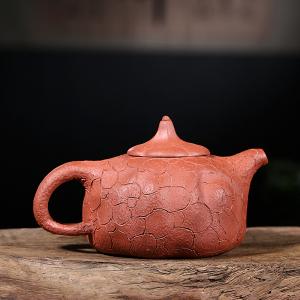 紫砂壶-原矿红泥-供春壶2号350cc