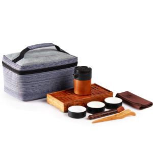 旅行茶具 快客旅行套装 黑砂