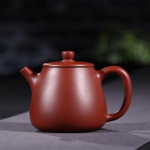 宜兴紫砂壶 朱泥大红袍 高石瓢壶2号 200cc