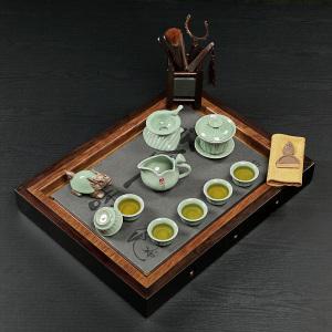 茶具套组 乌金石 禅茶一味套装