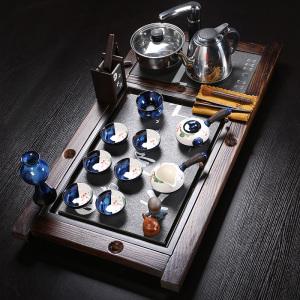 茶具套组 乌金石 古船木茶具套装