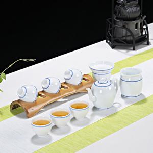 功夫茶具套组 陶瓷 美人壶茶具套装
