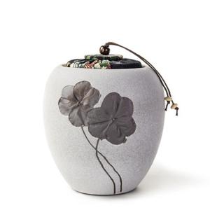 茶具 三叶草茶叶罐