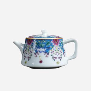 茶具 珐琅彩茶壶