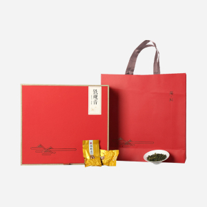 铁观音礼盒铁观音浓香(消青工艺) 牛皮红礼盒装 308g