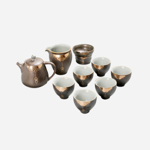 功夫茶具套组 陶瓷 如意壶套组
