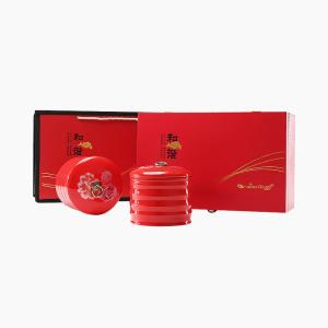 礼盒装 金骏眉 和谐双瓷罐200g(含提袋)