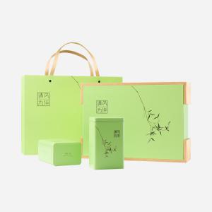 碧螺春绿茶-清风为伴礼盒250g-鲜爽滋味一品就知