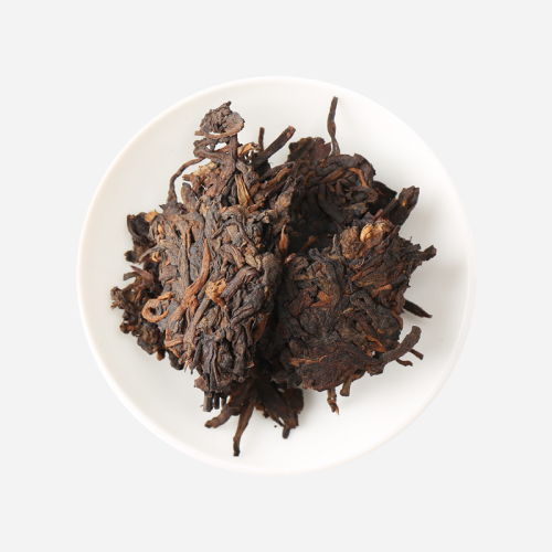 普洱茶-有福勐海熟饼礼盒357g-暖心好茶送礼