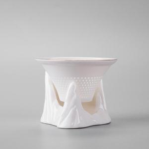 茶具-茶滤-五行山玉瓷茶滤