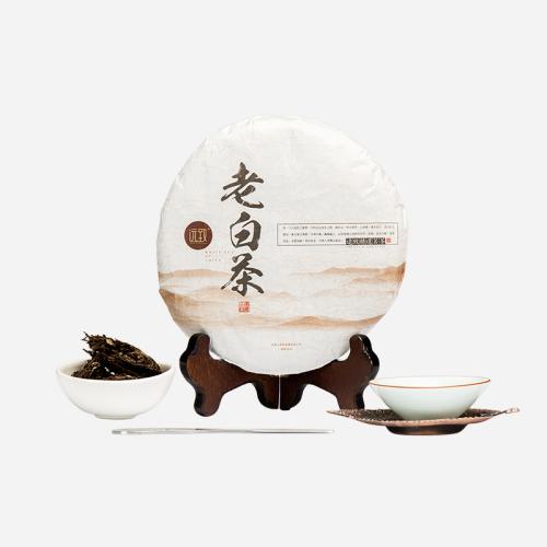 福鼎老白茶 五年陈 老贡眉350g 送精美茶刀