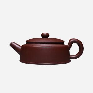 紫砂壶宜兴手工泡茶壶 扁汉瓦壶