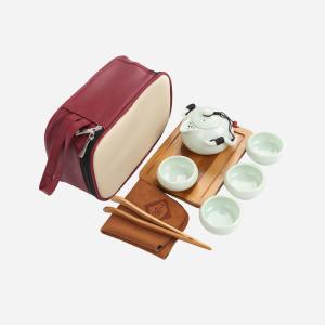 产地直供 茶具 旅行茶具 定窑企鹅壶套装