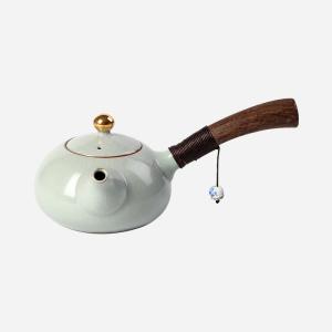 陶瓷侧把茶壶