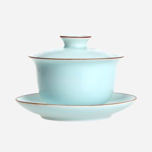 茶具 三才盖碗 功夫茶具配件