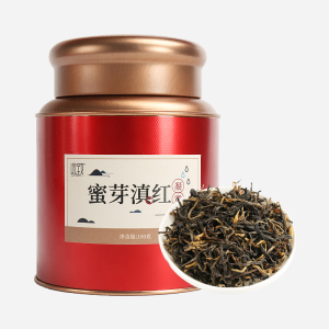 滇红-凝露蜜芽150g-铁罐装
