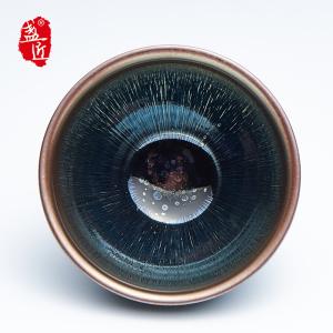 【徐良良】品茗杯-大师建盏-江南春雨盏