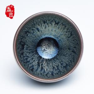 【游常华】品茗杯-大师建盏-雪松盏