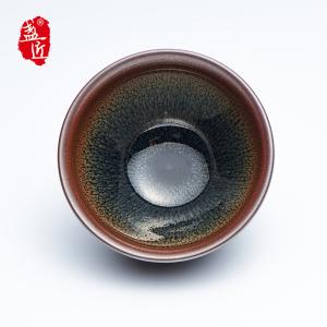 【谢勇】品茗杯-大师建盏-羽斑盏