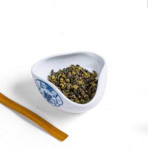茶具-茶荷-青花茶荷