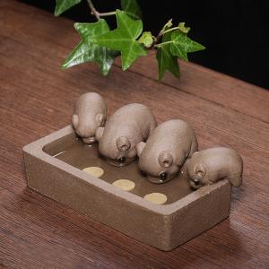 茶具-茶宠-丰衣足食招财猪