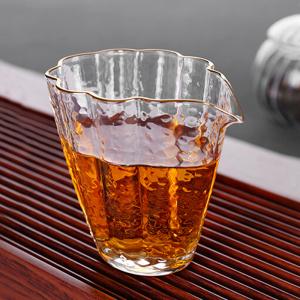 茶具-公道杯-金线锤纹公道杯