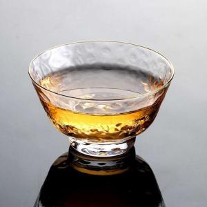 茶具-品茗杯-金边锤纹杯