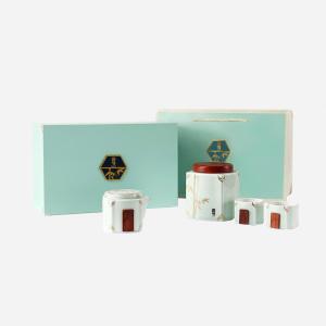 花香肉桂-高节茶具套装100g-高档岩茶礼盒