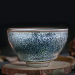 品茗杯-建盏-蓝鳞盏