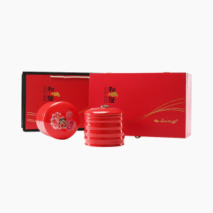 大红袍-和谐双罐礼盒装200g-武夷岩茶经典礼