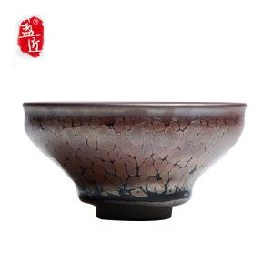 【陈贤杰】品茗杯-大师建盏-龙门飞甲盏