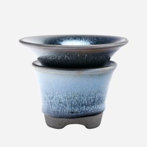 茶具配件-建盏-茶漏(茶漏+茶托)