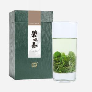 十大名茶 绿茶 远致碧螺春2號150g 简盒 鲜爽甘醇